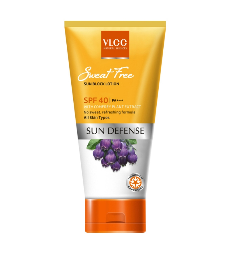 vlcc sweat free sun block lotion spf 40 sample giveaway