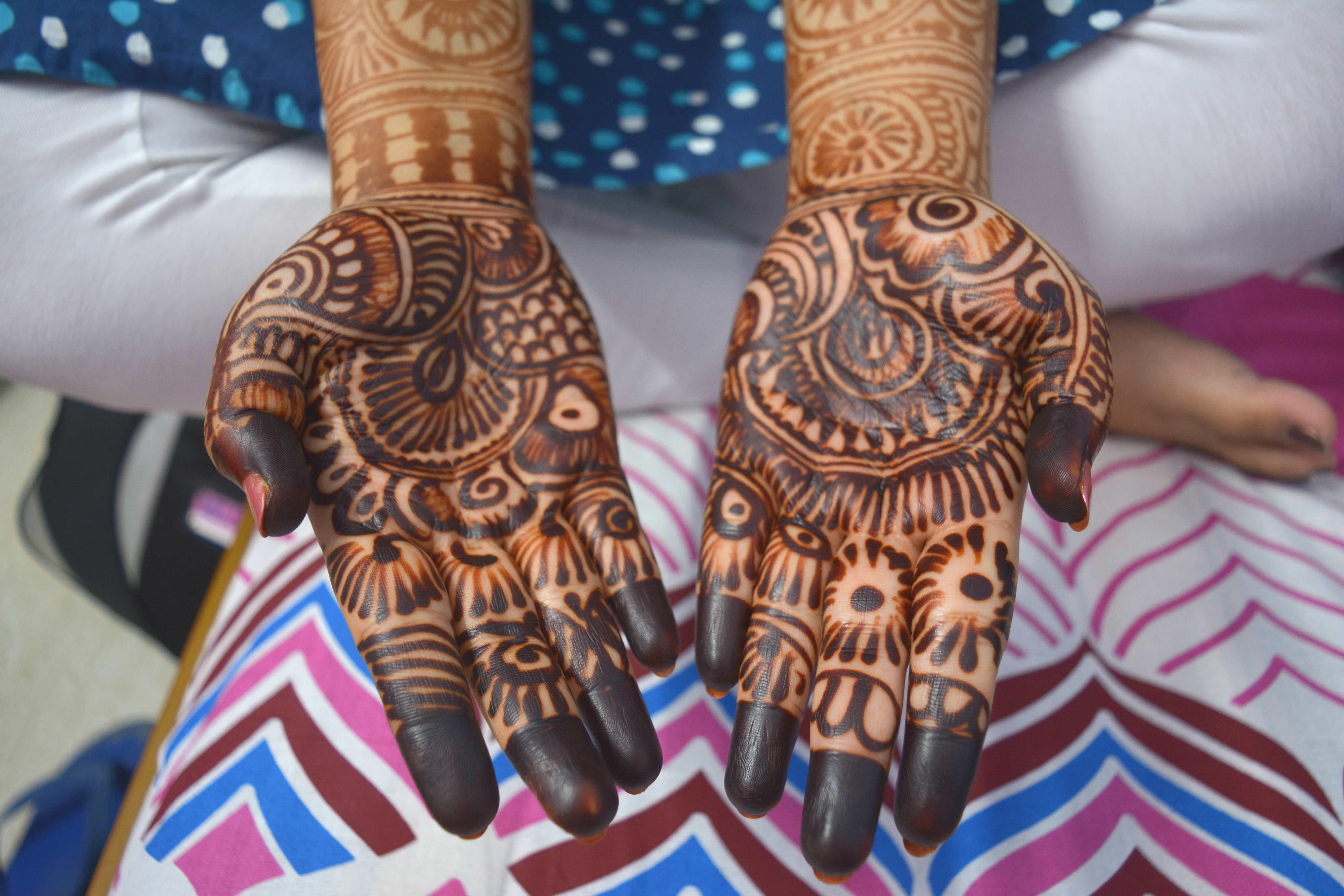 Mehndi Henna Red Cone Infection : Fda warns about hidden dangers of temporary henna tattoos that