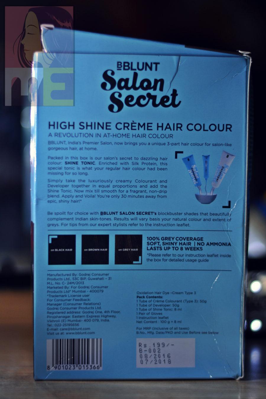 Beautifully me for B blunt salon price list
