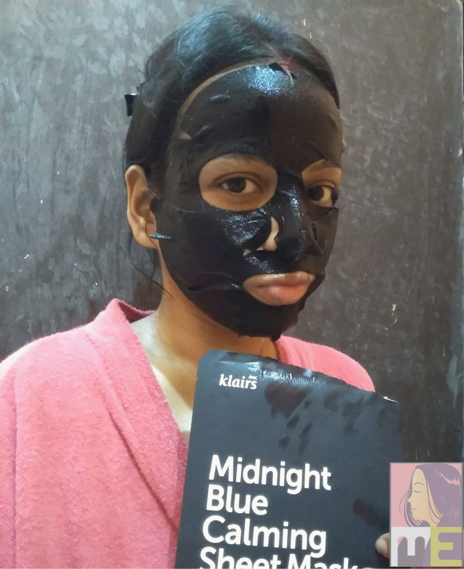 Midnight Blue Calming Sheet Mask by Klairs #6